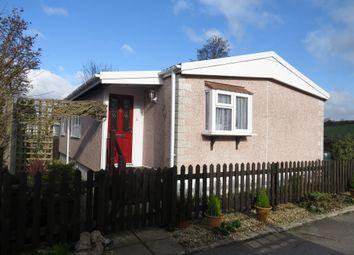 Thumbnail 2 bed mobile/park home for sale in Heath Farm Park, Barford St. Martin, Salisbury