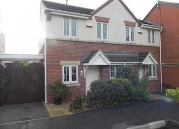 Thumbnail 2 bed semi-detached house to rent in Kelham Drive, Sherwood, Nottingham