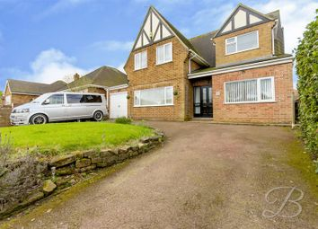 Thumbnail 4 bed detached house for sale in Denby Drive, Mansfield