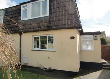 Thumbnail 3 bed semi-detached house to rent in Penmorvah Road, Truro, Cornwall