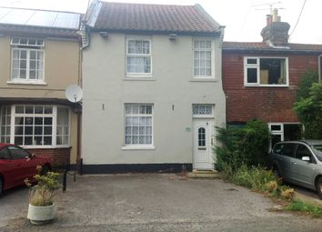 Thumbnail 2 bed terraced house to rent in Playford Road, Rushmere St. Andrew, Ipswich