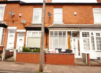 Thumbnail 2 bedroom terraced house for sale in Uplands Road, Handsworth, Birmingham