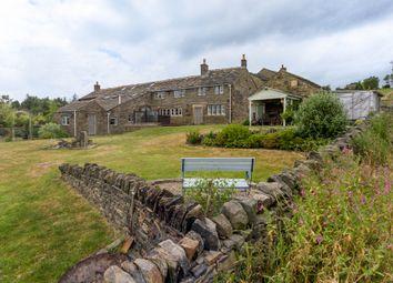 Thumbnail 4 bed farmhouse for sale in Burnt Platts Lane, Slaithwaite, Huddersfield