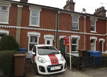 Thumbnail 2 bedroom terraced house to rent in Lancaster Road, Off Palmerston Road, Ipswich