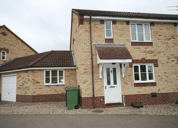 Thumbnail 3 bed semi-detached house for sale in Teasel Road, Attleborough
