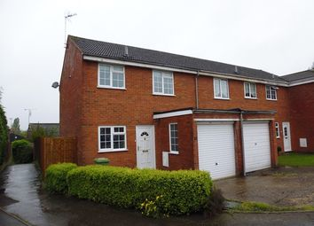Thumbnail 3 bed semi-detached house to rent in Stuart Close, Bletchley, Milton Keynes