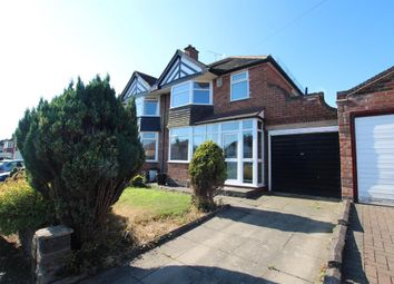 Thumbnail 3 bedroom semi-detached house for sale in Loynells Road, Rednal, Birmingham