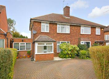 Thumbnail 3 bed semi-detached house for sale in Hillside Avenue, Borehamwood
