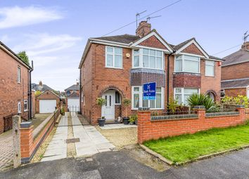 Thumbnail 3 bed semi-detached house for sale in Thomas Avenue, Newcastle-Under-Lyme