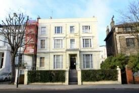 Thumbnail 1 bed flat to rent in Pembridge Villas, London