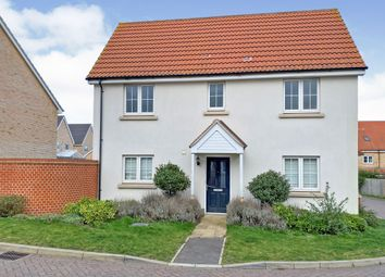 Thumbnail 3 bedroom link-detached house for sale in Crossbill Road, Stowmarket