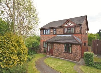 Thumbnail 4 bed detached house for sale in Hillfield, Norton, Runcorn
