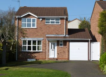 Thumbnail 3 bed detached house for sale in Little Glen Road, Glen Parva, Leicester