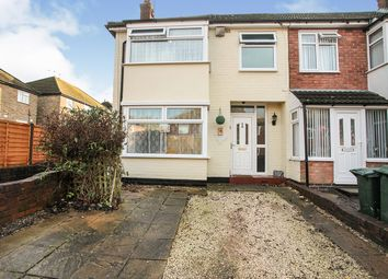 Thumbnail 3 bed end terrace house for sale in Sunnybank Avenue, Coventry, West Midlands