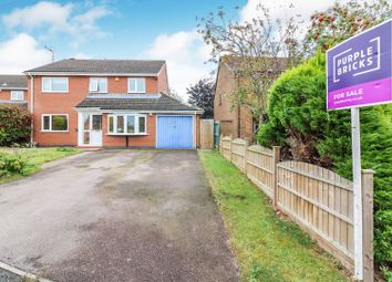 Thumbnail 4 bed detached house for sale in Derby Close, Broughton Astley