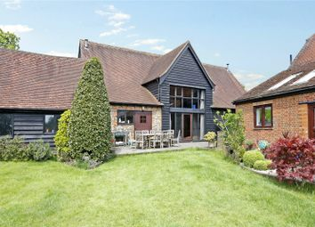 Thumbnail 5 bedroom barn conversion for sale in Widmere Lane, Marlow, Buckinghamshire
