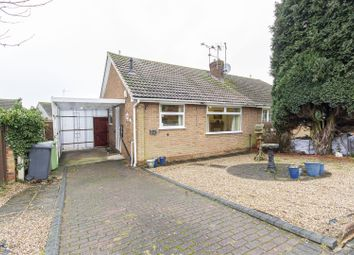 Thumbnail 2 bed semi-detached bungalow for sale in Ridgedale Road, Bolsover, Chesterfield