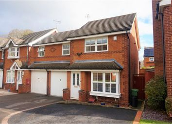 Thumbnail 3 bedroom end terrace house for sale in Holly Court, Oadby