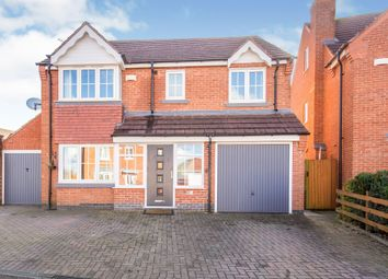 Thumbnail 5 bed detached house for sale in Reynolds Chase, Wigston