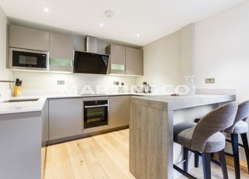 Thumbnail 1 bed flat to rent in Premiere Place, London