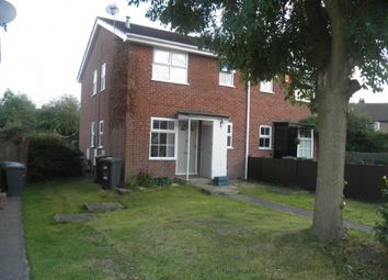 Thumbnail 1 bed terraced house to rent in Barlow Drive South, Awsworth, Nottingham