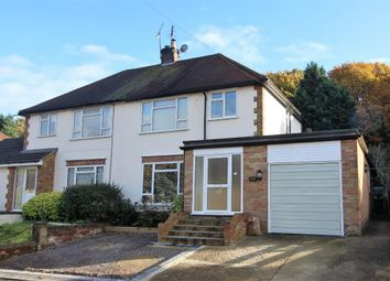 Thumbnail 4 bed semi-detached house for sale in Fairfield Drive, Frimley