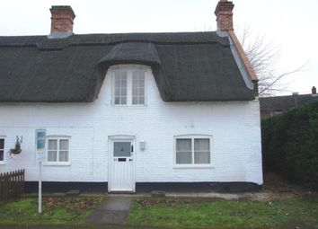 Thumbnail 2 bed end terrace house for sale in Weeting, Brandon, Norfolk