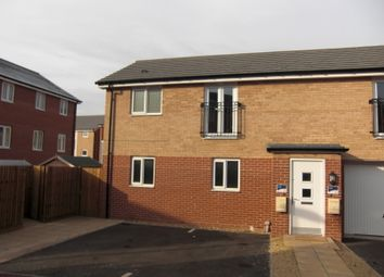 Thumbnail 1 bed flat for sale in Onyx Crescent, Leicester