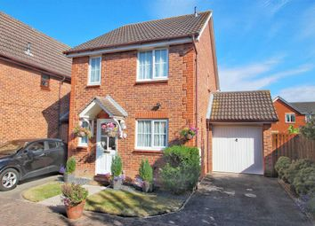 Thumbnail 3 bed detached house for sale in Lilian Impey Drive, Highwoods, Colchester