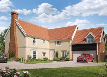 Thumbnail 5 bed detached house for sale in Ashe Road, Tunstall, Woodbridge