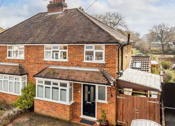 Thumbnail 3 bed semi-detached house for sale in Oakdene Close, Brockham, Betchworth