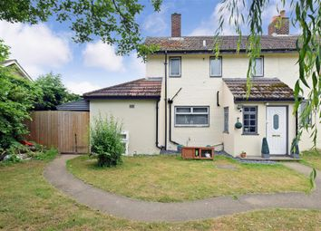 Thumbnail 3 bed semi-detached house for sale in Medina Road, Ditton, Aylesford, Kent