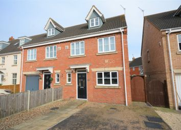 Thumbnail 4 bed semi-detached house for sale in Diprose Drive, Parkhill, Lowestoft