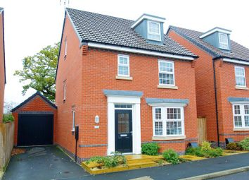 Thumbnail 4 bed detached house for sale in Harris Close, Greenlands, Redditch, Worcestershire