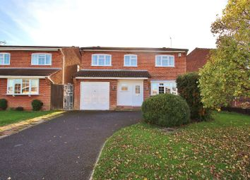 Thumbnail 5 bedroom detached house for sale in Meadow Way, Groby, Leicestershire