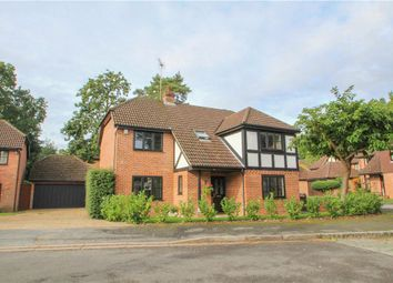 Thumbnail 5 bedroom detached house for sale in Napier Drive, Camberley, Surrey