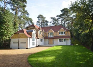 Thumbnail 5 bed detached house for sale in Forest Drive, Lower Bourne, Farnham