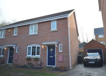 Thumbnail 3 bed semi-detached house for sale in Pochard Street, Queens Hill, Costessey, Norfolk