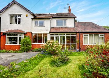 Thumbnail 5 bed detached house for sale in Hall Moss Lane, Bramhall, Stockport