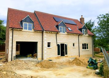 Thumbnail 4 bed detached house for sale in Macham Close, Swinstead, Grantham