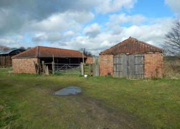 Thumbnail Barn conversion for sale in Willow Barn & Land, Thorpe Road, Haddiscoe, Norfolk