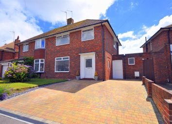 Thumbnail 3 bed semi-detached house for sale in Astaire Avenue, Eastbourne