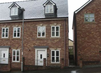Thumbnail 3 bed end terrace house for sale in 7, Ffordd Spoonley, Llansantffraid, Powys