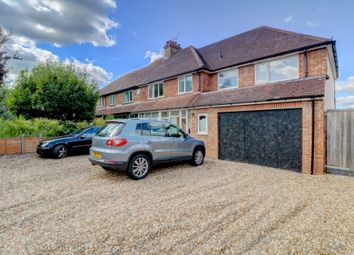 Thumbnail 4 bed semi-detached house for sale in Farm Close, Holly Lane, Worplesdon, Guildford