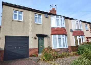 Thumbnail 4 bed semi-detached house for sale in Greensfield Avenue, Alnwick