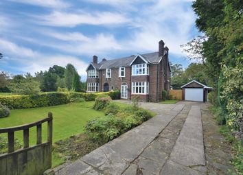 Thumbnail 4 bed semi-detached house for sale in Plumley Moor Road, Plumley, Knutsford
