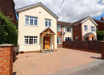 Thumbnail 4 bed semi-detached house for sale in Hazelhurst Road, Worsley, Manchester