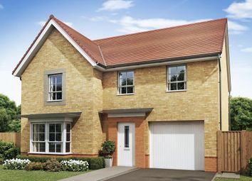 "Thumbnail 4 bedroom detached house for sale in ""Haltwhistle"" at The Ridge, London Road, Hampton Vale, Peterborough"