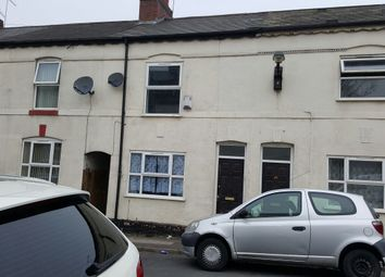Thumbnail 3 bed terraced house to rent in Thorpe Road, Walsall, West Midlands