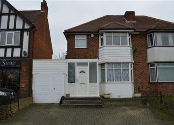 Thumbnail 3 bed semi-detached house for sale in Coventry Road, Yardley, Birmingham